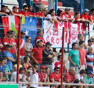 Inter de Lages torcida (Foto: Greik Pacheco/Inter de Lages)