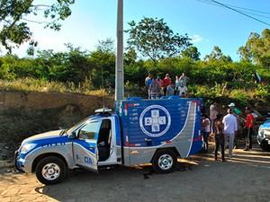 Jovem testemunha de crime na Bahia é achado morto após sequestro  (Foto: Anderson Oliveira/Blog do Anderson)