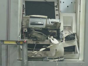 caixa eletrônico é explodido (Foto: Keile Araújo/Itororó Já)