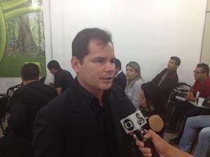 Marcos Tenório, diretor do Instituto Estadual de Florestas' (Foto: John Pacheco/G1)