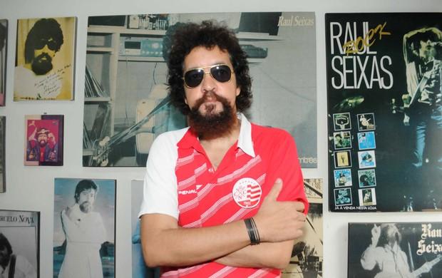 Cover Raul Seixas Náutico (Foto: Aldo Carneiro/Pernambuco Press)