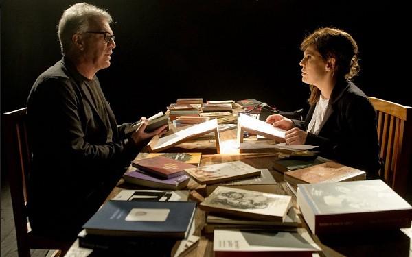 Pedro Bial conversa com Barbara Paz no programa A arte do encontro que vai ao ar nesta quarta-feira (8) (Foto: Divulgação)