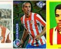 5 brasucas do Atlético: Luís Pereira, Diego Costa, Baltazar, Miranda e Vavá