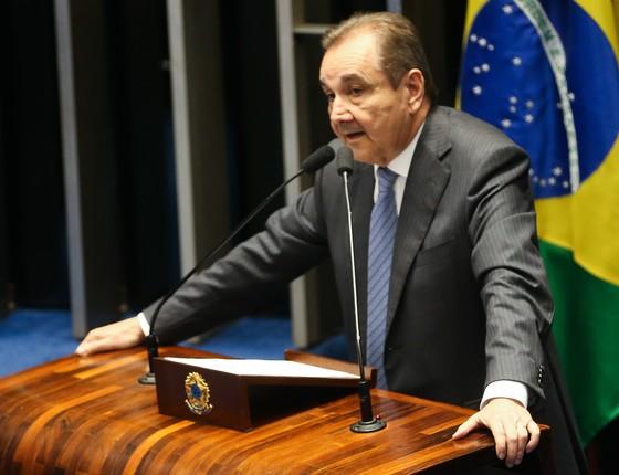 O senador Agripino Maia (Foto: Antonio Cruz/Agência Brasil)