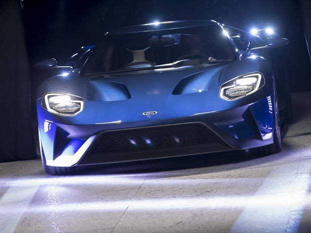 Novo Ford Gt Foto Afp Photo Geoff Robins