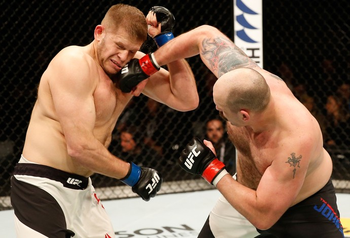 Timothy Johnson Marcin Tybura UFC Croácia (Foto: Getty Images)