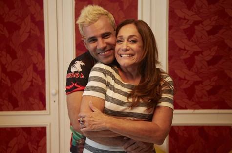 Rodrigo Sant'anna e Susana Vieira (Foto: Guto Costa)