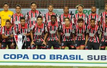 São Paulo empata com o Bahia e conquista a Copa do Brasil Sub-20