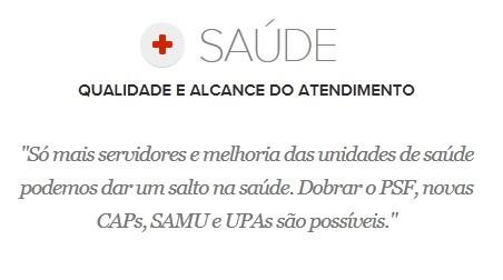 Proposta de Edivaldo Holanda para a Saúde (Foto: G1 Maranhão)