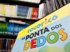Biblioteca em braille de Poá (Foto: Julien Pereira/Prefeitura de Poá)