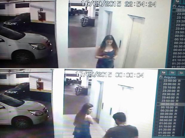 Mãe chegou ao apartamento à meia-noite, quando o menino já tinha caído, de acordo com a polícia (Foto: Reprodução)