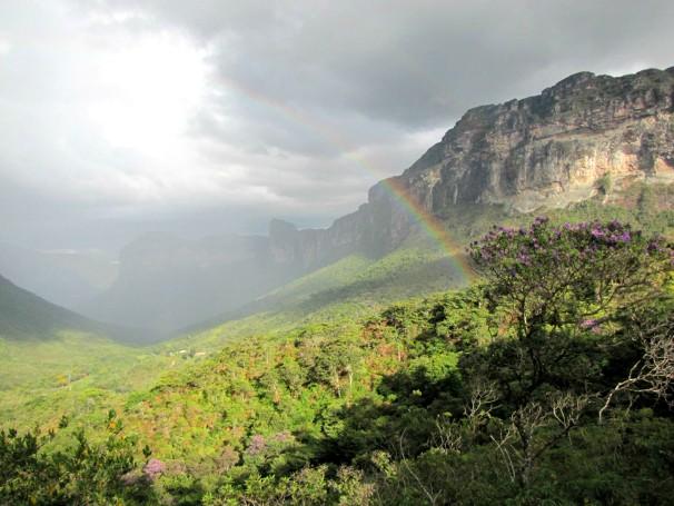 Vale do Patu, um dos cenários encontrados na Chapada Diamantina (Foto: Tiago Bucci)