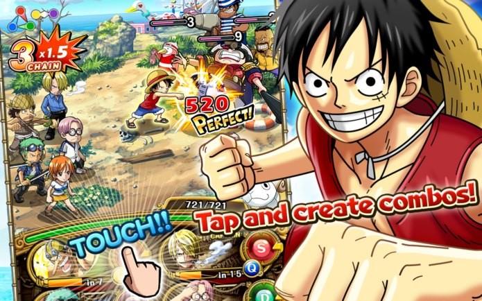 One Piece agora também no seu iPhone ou iPad (Foto: Divulgação)