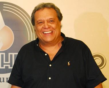 Jô entrevista Henrique Capriles, Laila Garin e Dennis Carvalho (TV Globo / Alex Carvalho)