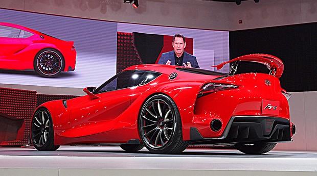 Toyota FT-1 no Salão de Detroit 2014 (Foto: Newspress)
