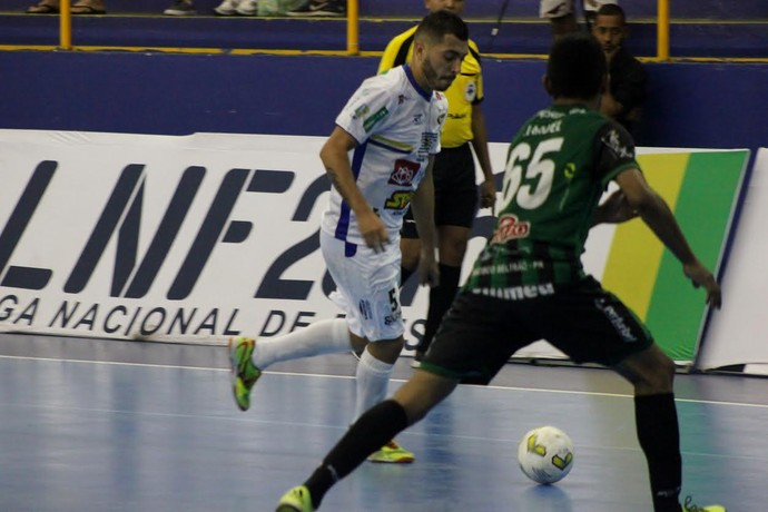São José Futsal Marreco LNF (Foto  Leandro Zambianchi   São José Futsal) b5ba3ad664c06
