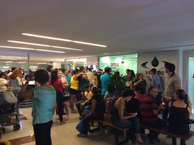 Clínicas com grande movimentação no Recife (Foto: Renato Torres/Divulgação)
