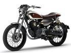 Yamaha Resonator 125 é moto urbana retrô com madeira de guitarra