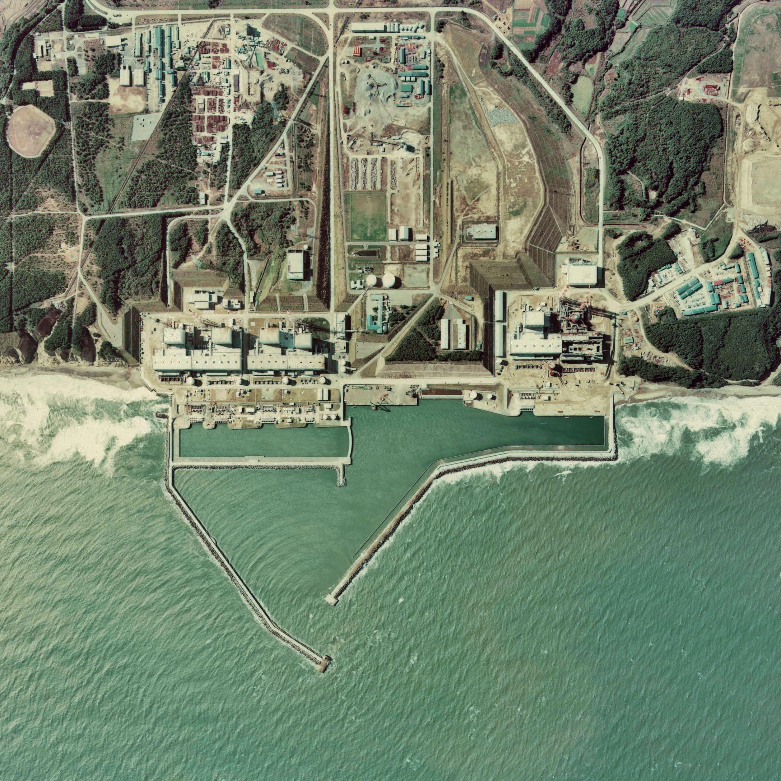 Vista aérea de Fukushima I (Foto: Wikimedia Commons)