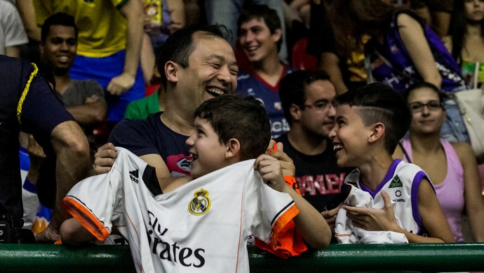 Torcedor Mogi das Cruzes Real Madrid (Foto: Nicholas Modesto)