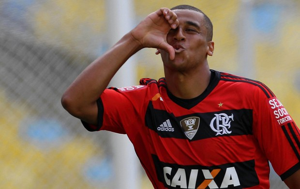 Welinton gol Flamengo x Audax (Foto: Carlos Moraes / Ag. Estado)