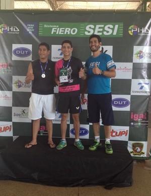 Silvio Júnior campeão de tênis de mesa em Porto Velho (Foto: FRTM/Divulgação)