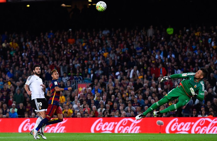 Diego Alves Barcelona x Valencia (Foto: Getty Images)