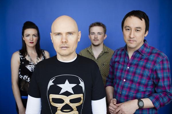 Os membros originais do Smashing Pumpkins (Foto: Reprodução)