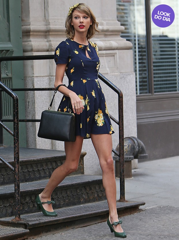 Look do dia - Taylor Swift (Foto: AKM )