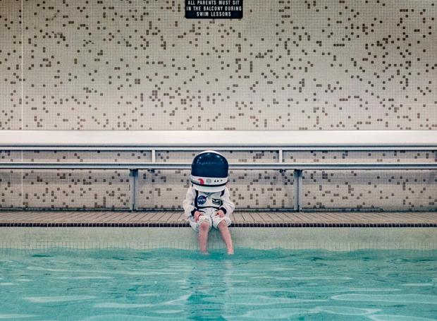 astronauta1 (Foto: Aaron Sheldon)
