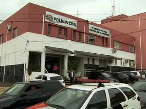 1º Distrito Policial de Campinas (DP) (Foto: Carlos Velardi/EPTV)