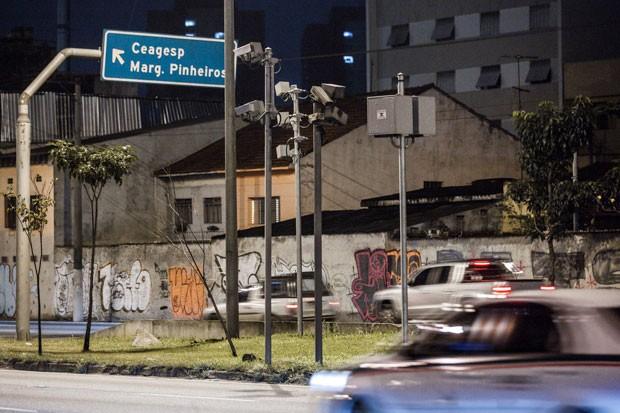 Marginais são vias com mais acidente com vítimas na cidade, mostra pesquisa (Foto: Marcelo Brandt/G1)