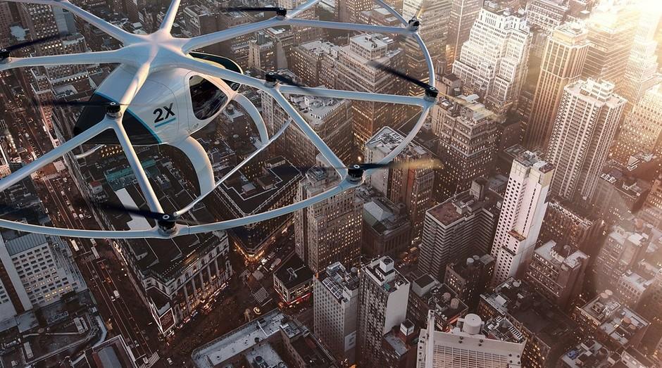 Volocopter (Foto: Reprodução)