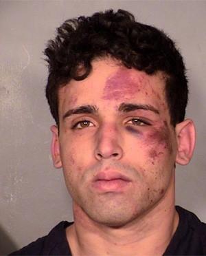 Ladrão tentou roubar strippers 'bombados' e acabou apanhando antes de ser preso nos EUA (Foto: Divulgação/Las Vegas Metropolitan Police Department)