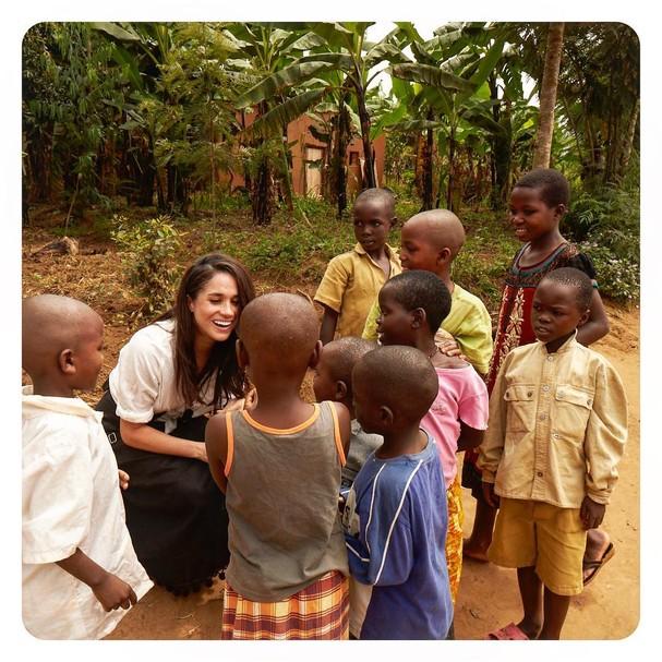 Meghan Markle: usando a fama para fazer o bem (Foto: Instagram/Reprodução)