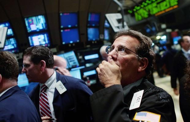 Crise 2008; Bolsa de Valores (Foto: Getty Images)