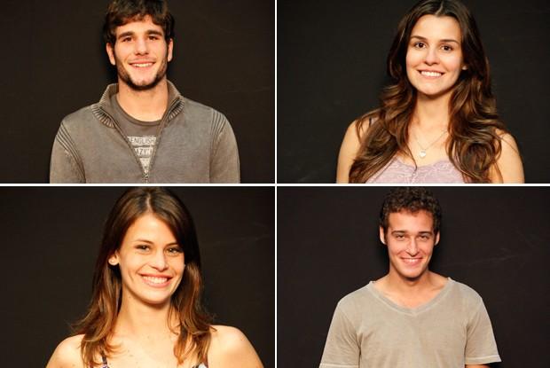 Daniel, Natasha, Talita e Rafael serão os primeiros finalistas a se apresentarem no palco do Caldeirão (Foto: Caldeirão/TV Globo)