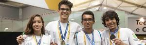Minas Gerais leva ouro e prata na prova de agrimensura (Paulo Amendola)
