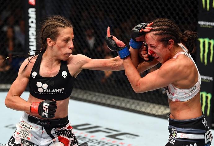 Joanna Jedrzejczyk Jessica Penne MMA UFC Berlim (Foto: Getty Images)