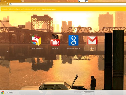 screenshot de Temas para Google Chrome