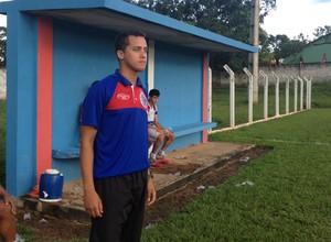 Fernando Henrique, preparador físico do Araguaína (Foto: Vilma Nascimento/GloboEsporte.com)