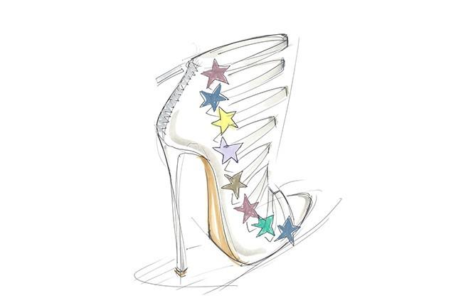 Coleção de sapatos assinada por Katy Perry (Foto: Divulgação)