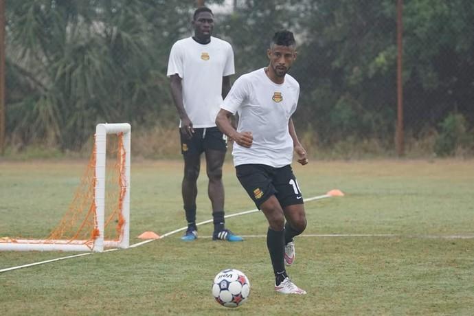Léo Moura Fort Lauderdale Strikers (Foto: Divulgação)