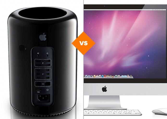 Comparamos o Mac Pro e iMac; confira (Foto: Arte/TechTudo)