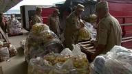 Alimentos arrecadados por moradores de Goiás chegam ao Recife