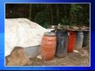 Moradores flagram descarte irregular de produtos na zona rural de Alumínio
