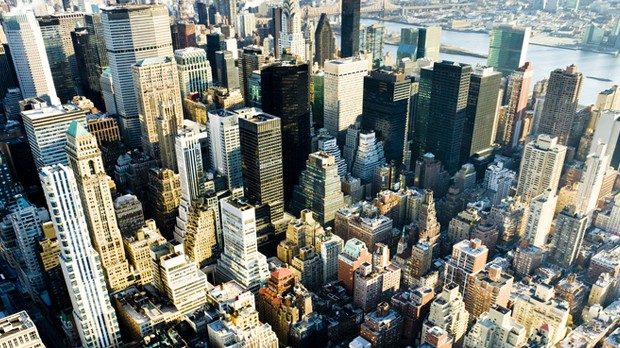 Nova York vista de cima (Foto: Divulgao)