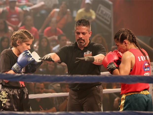 Apenas ansiosos por esta luta (Foto: Isabella Pinheiro / Gshow)