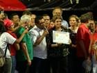 Dilma recebe título de cidadã paraense e comenda em Belém