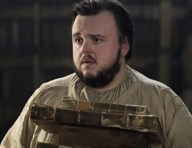 Sam Tarly (John Bradley) em Game of Thrones (Foto: reproduçao)
